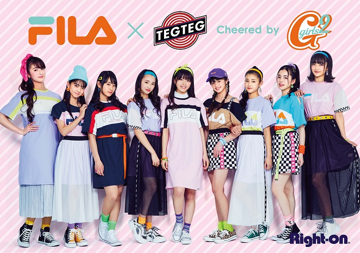 FILA×TEG TEG cheered by Girls²第二弾:イメージ