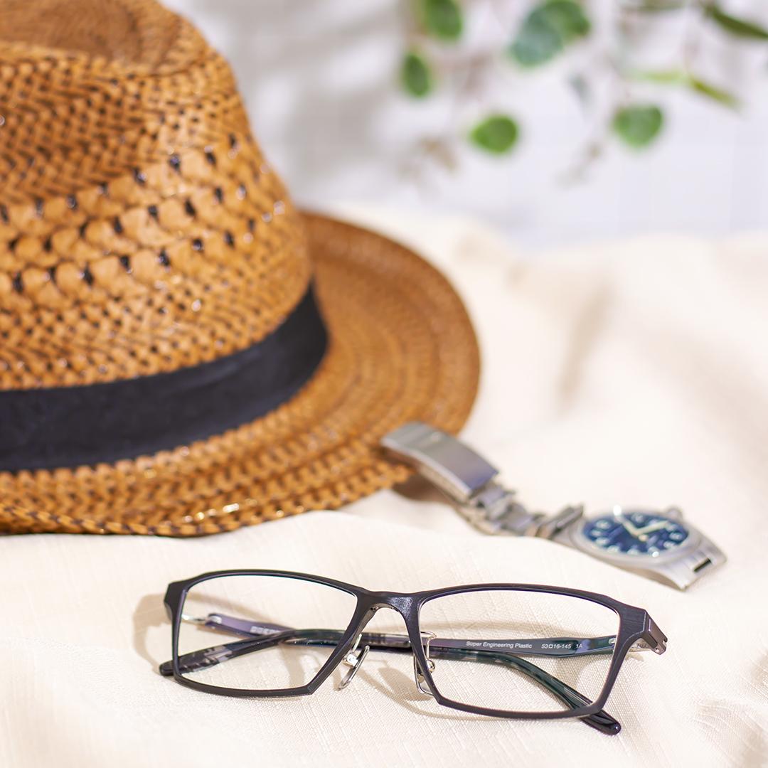 「軽さ」「しなやかさ」を備えたメガネ:イメージ